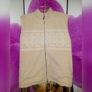 Ralph Lauren Fair Isle Reversible Vest